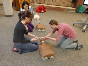 CPR classes for the community