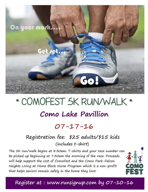 ComoFest 5K Run Walk